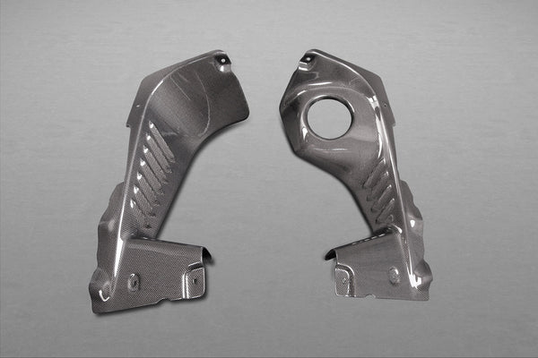 Ferrari 458 Spider - Side Engine Compartment Covers (Spider ONLY) Exhaust System