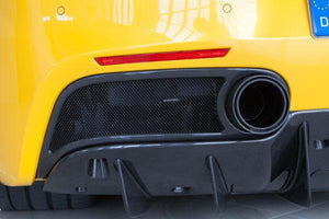 Ferrari 488 – Carbon End Pipe Shells