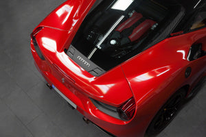 Ferrari 488 GTB - Carbon Rear Air Guide Exhaust System