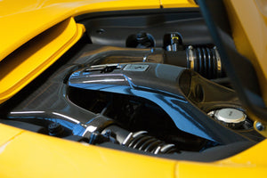 Ferrari 488 GTB & GTS - Carbon Airbox and Lock Cover set Exhaust System