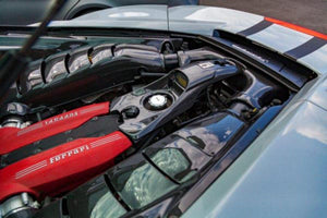 Ferrari 488 GTB/Pista – Carbon Engine Compartment Side Covers