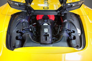 Ferrari 488 GTS / Pista Spider – Carbon Engine Compartment Side Covers