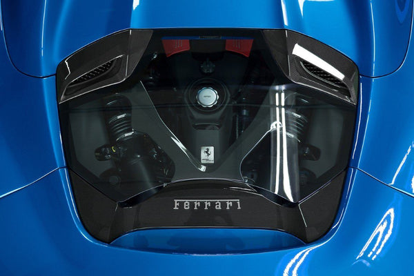 Ferrari 488 GTS/Pista/F8 Spider – Carbon and Glass Bonnet