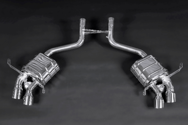 Maserati Gran Turismo – Valved Exhaust System (Incl. Remote) Exhaust System