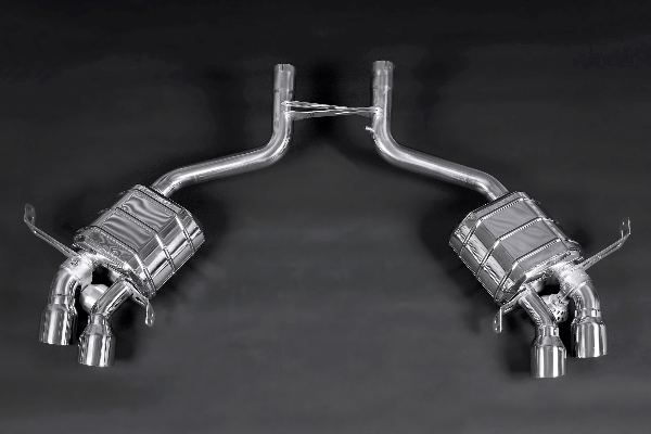 Maserati Gran Turismo – Valved Exhaust System (No Remote) Exhaust System