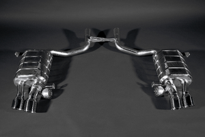 Maserati Quattroporte – Valved Exhaust System (Incl. Remote) Exhaust System