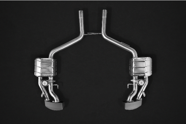 Mercedes CLS63 AMG (218) 5.5L BiTurbo – Valved Sport Exhaust System (Incl. Remote) Exhaust System
