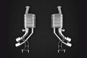 Mercedes G500 4.0L V8 BiTurbo (W 464, 2019-) iconic CAPRISTO Valved Exhaust System with CES-3 with ECE
