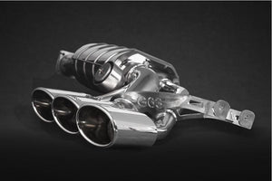 Mercedes G500 4.0L V8 BiTurbo (W 464, 2019-) – Valved Triple Mufflers with CES-3 with ECE Exhaust System