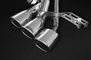 Mercedes G500 Valved Triple Tip Exhaust System