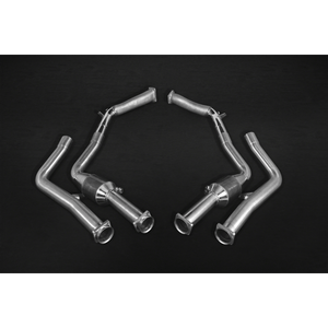 Mercedes G63/500 5.5L V8 BiTurbo AMG (W 463, 2012-) – Catless Downpipes Exhaust System