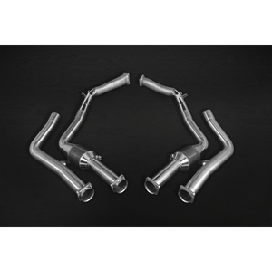 Mercedes G63/500 5.5L V8 BiTurbo AMG (W 463, 2012-) – Downpipes with Sports Cats 200 Cell Exhaust System