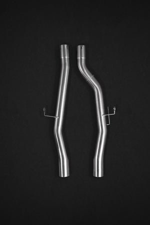 Mercedes GLC63/S AMG (2016+) X253 – Valved Exhaust System, Mid-Pipe made of high-grade T309 (1.4828) Stainless Steel