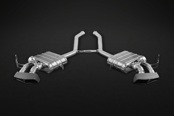 Mercedes ML63 AMG – Valved Exhaust System (Incl. Remote) with Ceramic Tips Exhaust System