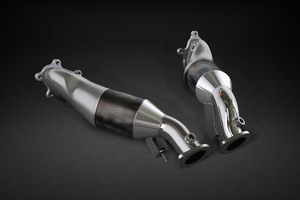 Nissan GTR MK3 – Downpipes with Sports Cats 100 Cell Exhaust System