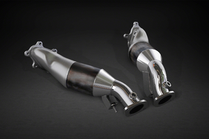 Nissan GTR MK3 – Downpipes with Sports Cats 200 Cell Exhaust System