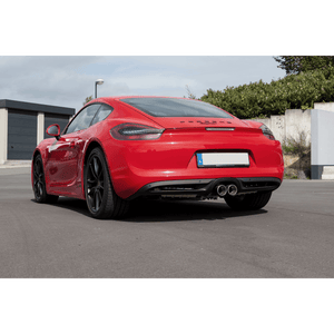 PORSCHE 981/982 BOXSTER, CAYMAN, GT4, 718 backpressure-controlled exhaust valves