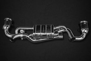 Porsche 992 Carrera/S – Valved Exhaust incl. 200 Cell Sport Cats (CES3) Exhaust System