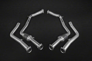 Rear silencer 4-branch with CES-3 and ECE approval