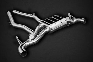 Toyota Supra (A90) – Valved OPF-Back Exhaust (E2P) Exhaust System