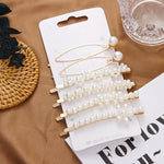 Sets of 2 to 5 Pearls Hair Clips - The KOKO Glam