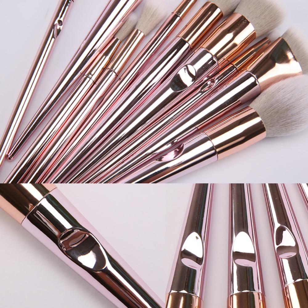 Pinky Halo Brush 10 pcs Set - The KOKO Glam
