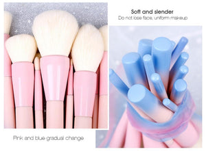 Pink/Blue - Yellow/Orange Gradient Color Pro 14pcs - The KOKO Glam
