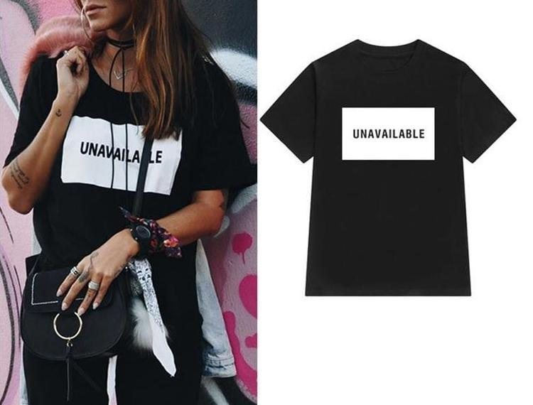 Unavailable T-shirt - The KOKO Glam