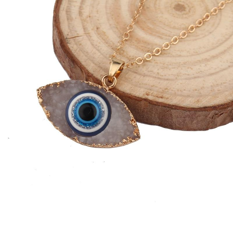 Evil Eye Pendant Necklace - The KOKO Glam