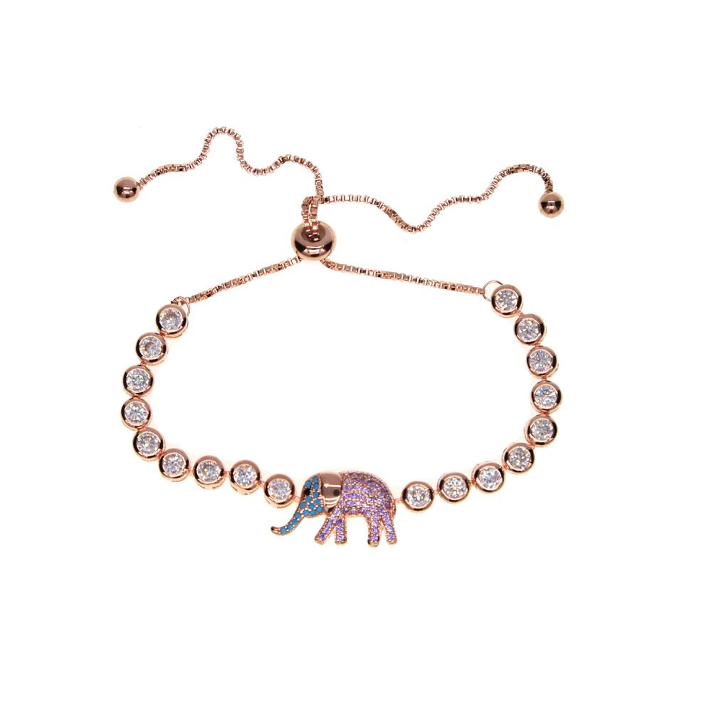 Gold Color Elephant Bracelets - The KOKO Glam
