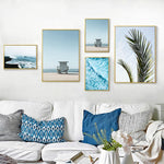 Tropical Beach Felling Canvas Collection - The KOKO Glam