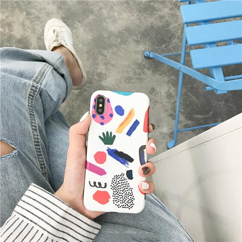 Abstract Art Painted Phone Case - The KOKO Glam
