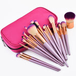 LIMITED EDITION- 26 pcs Gold Makeup Brush Set with Zipper Case - The KOKO Glam
