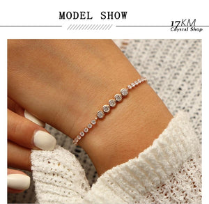 Crystal Charm Bracelet - The KOKO Glam
