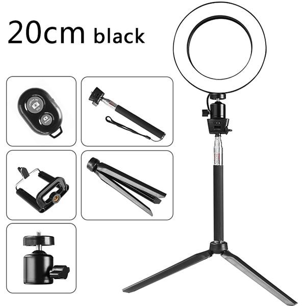 LED Selfie Ring Light- With Phone Holder - The KOKO Glam