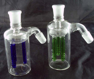 19mil GLASS ASHCATCHER WITH THREE  ARM TREE DIFFUSER. ASH-25-B