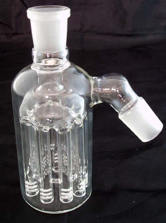 19mil GLASS ASHCATCHER WITH ELEVEN ARM TREE DIFFUSER.  ON SALE.  ASH-31-B