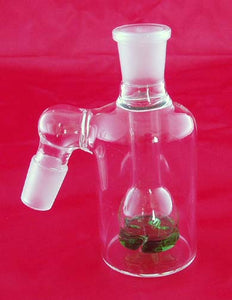 19mil GLASS ON GLASS ASHCATCHER WITH VORTEX DIFFUSER. ASH-4V-B