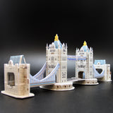DIY 3D MINI ARCHITECTURE PUZZLE. 5 PUZZLES IN ONE.  C056H