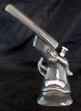 "10"" CERAMIC SHOTGUN SMOKING WATER PIPE/BUBBLER. C10"