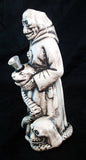 "8"" CERAMIC UGLY DEATH SMOKING WATER PIPE/BUBBLER. C15"