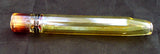 "3.25"" FUMED GLASS STRAIGHT CHILLUM/ONE HITTER.  CLM-4"