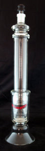 "18"" GLASS CONCENTRATE OIL EXTRACTOR.  CON-XT-4"