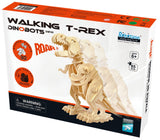 DIY 3D WOODEN WALKING T-REX PUZZLE. FUN FOR ALL AGES.  D210