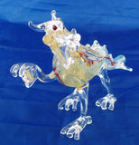 "BEAUTIFUL 6"" GLASS DRAGON SMOKING PIPE. GAP-DGN-8"