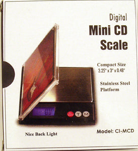 500gram DIGITAL MINI CD POCKET SCALE. 0.1gram ACCURACY. DSC-11
