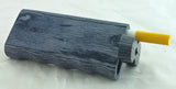 "4"" GRIP STYLE BLACK WOOD DUGOUT WITH ONE HITTER. DUG-11"