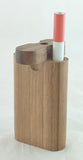 "3"" CLASSIC STYLE WALNUT WOOD DUGOUT WITH ONE HITTER. DUG-26"