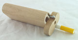 "4"" CLASSIC WALNUT WOOD DUGOUT WITH  CLEANER TOOL. DUG-41"
