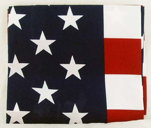 "58"" X 35"" COTTON USA FLAG.   FLAG"